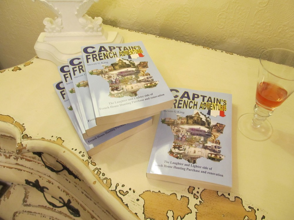 Proof copies of Captain's French Adventures Arrived!